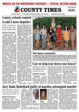 Crisfield-Somerset County Times front page